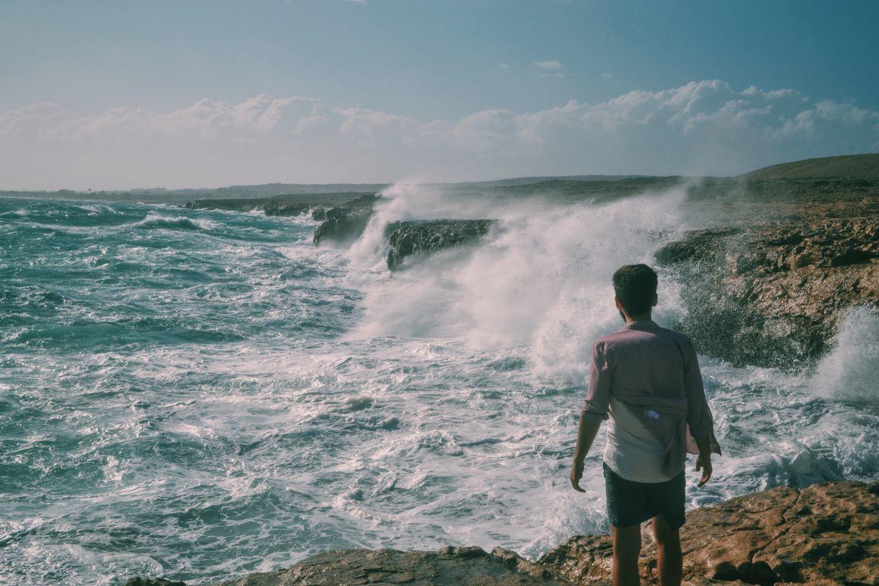Just chillin on the cliffs Erasmuslife Sea Waves Cliffs Erasmus Life Water Bending