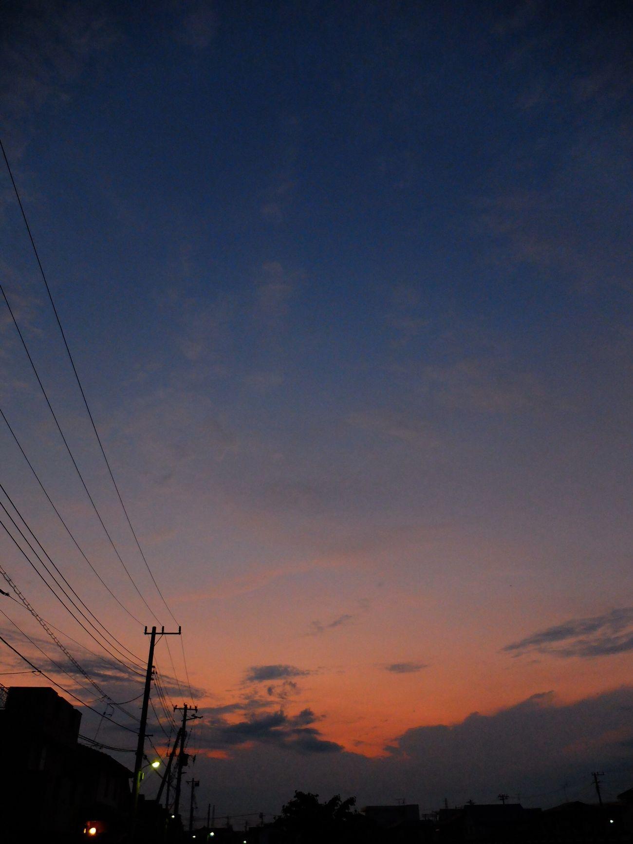 残光がきれいだよ FujiFilm X20 Sunset