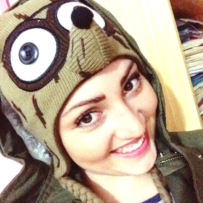 Rigby  Regularshow Girl Love Winter Selfie Happy Eye4photography  Hello World