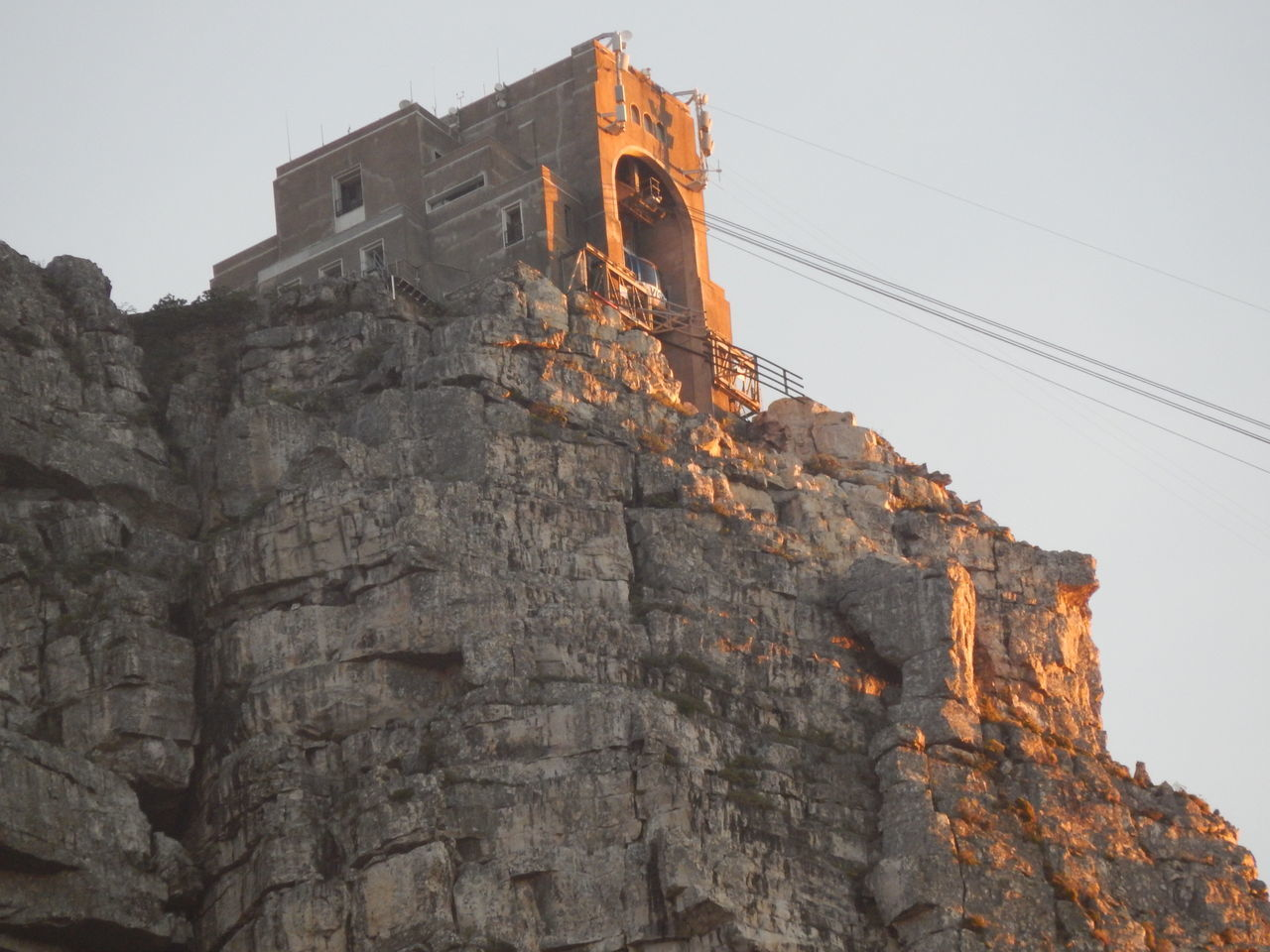Cable Car Cape Town Mountain Rock Formation Rocky South Africa Table Mountain Table Mountain Cable Car