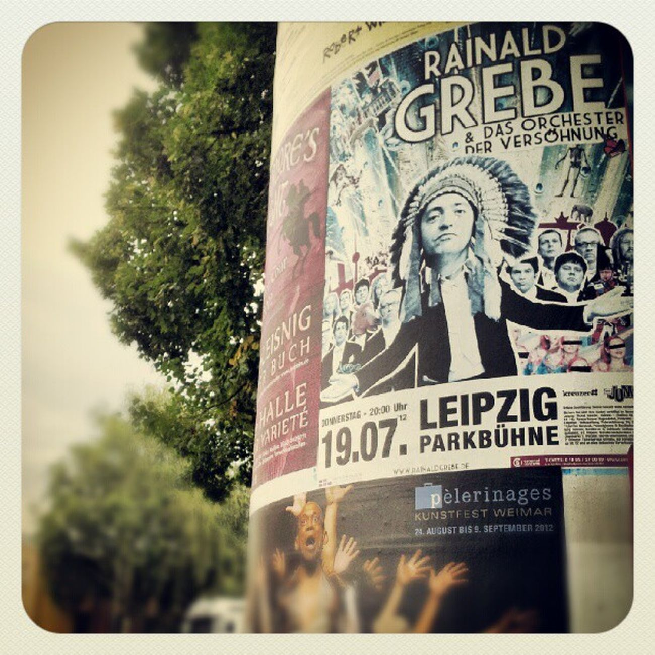 unser #rainald in #leipzig #parkbühne Rainald Parkbühne Leipzig