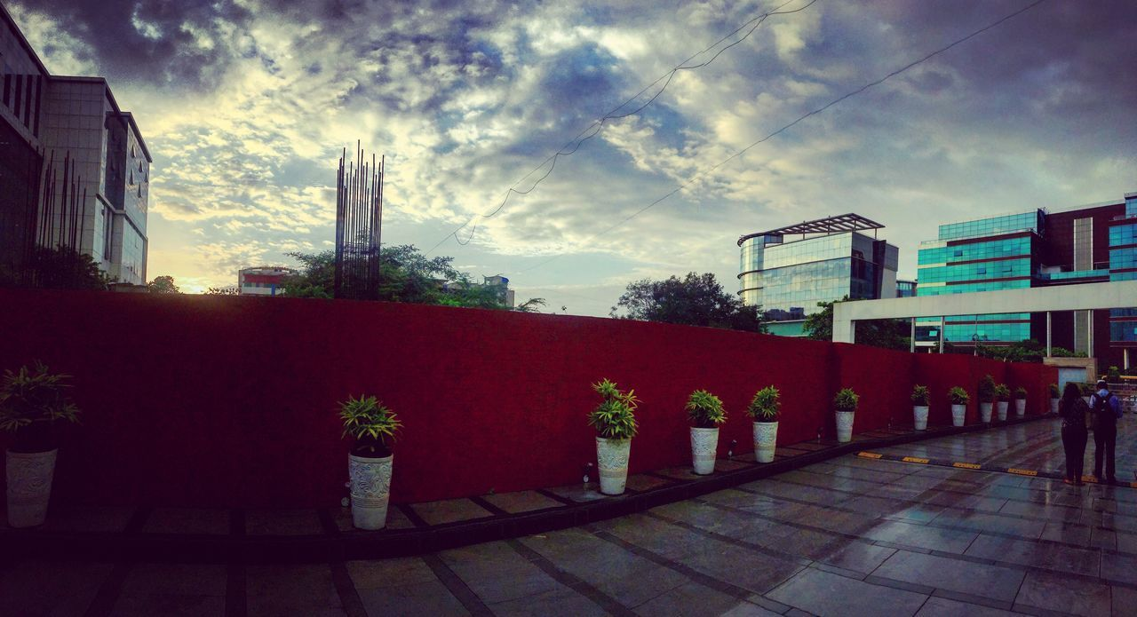 Moonsoon is here Architecture Building Exterior Sky Built Structure City Cloud - Sky Outdoors No People Day Cityscape The Architect - 2017 EyeEm Awards