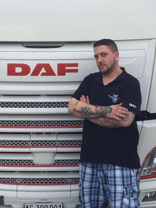 Tattoo Tattoo ❤ My Truck My Dream My Self Truckdriver My Love❤ Truckerslife