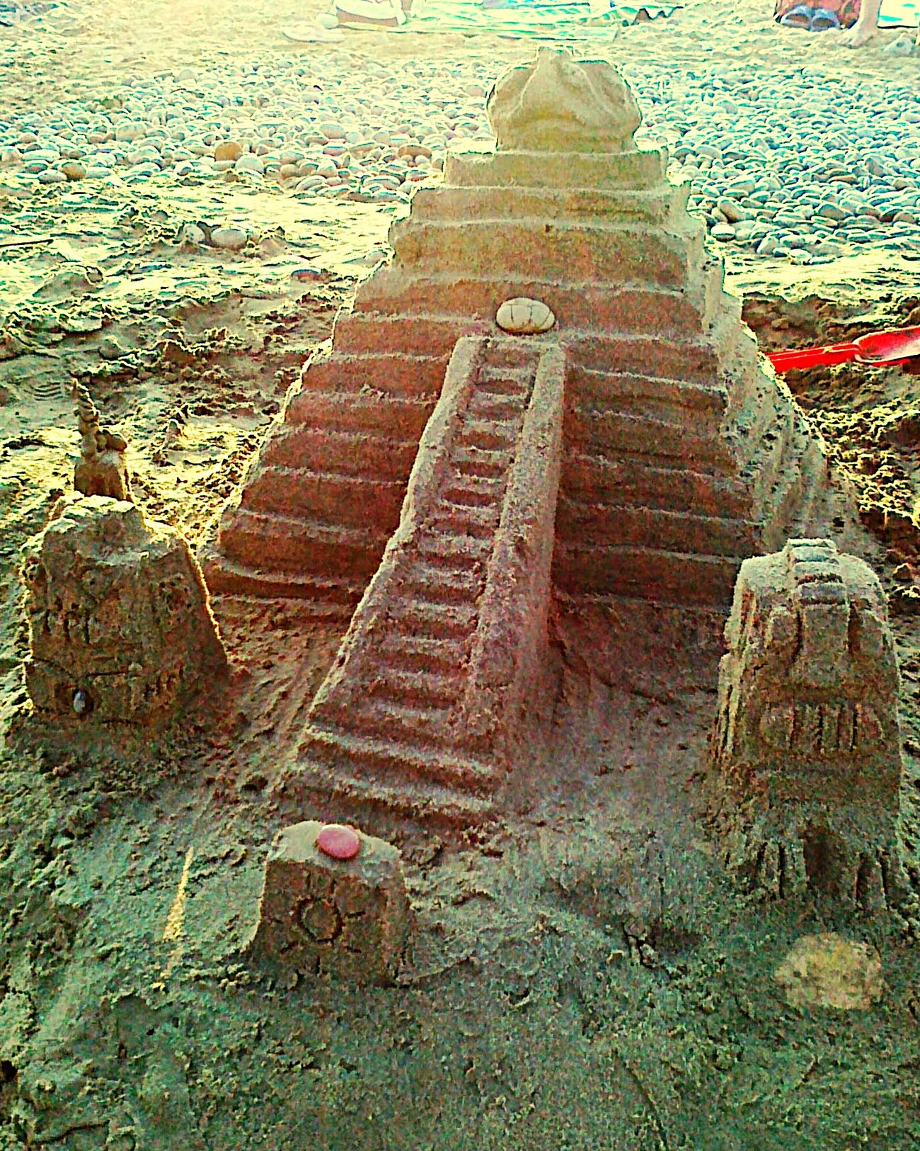 Holiday POV Sandcastles Aztec Inspired On The Beach