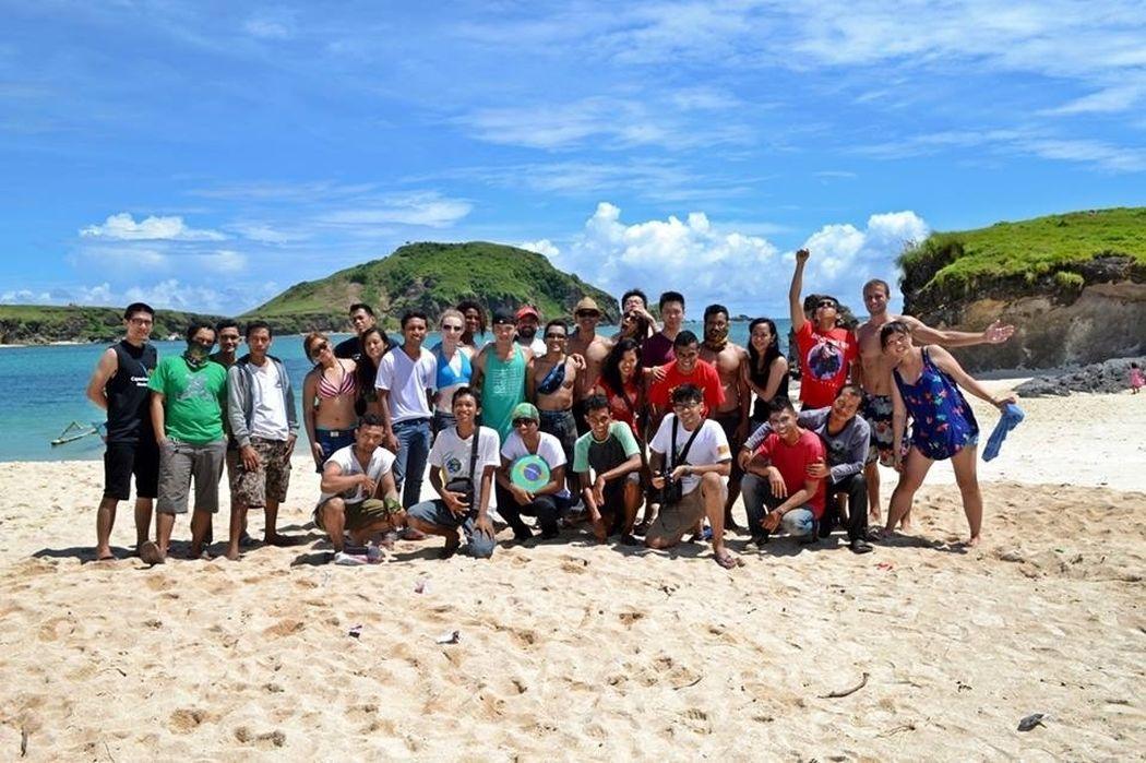 Hanging Out Beach Capoeira Família