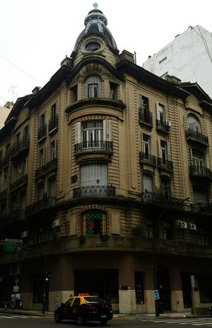 Buenosaires Caba Dianublado Libertad Santafe Esquina Ventana Window Building Old Downtown Beautiful