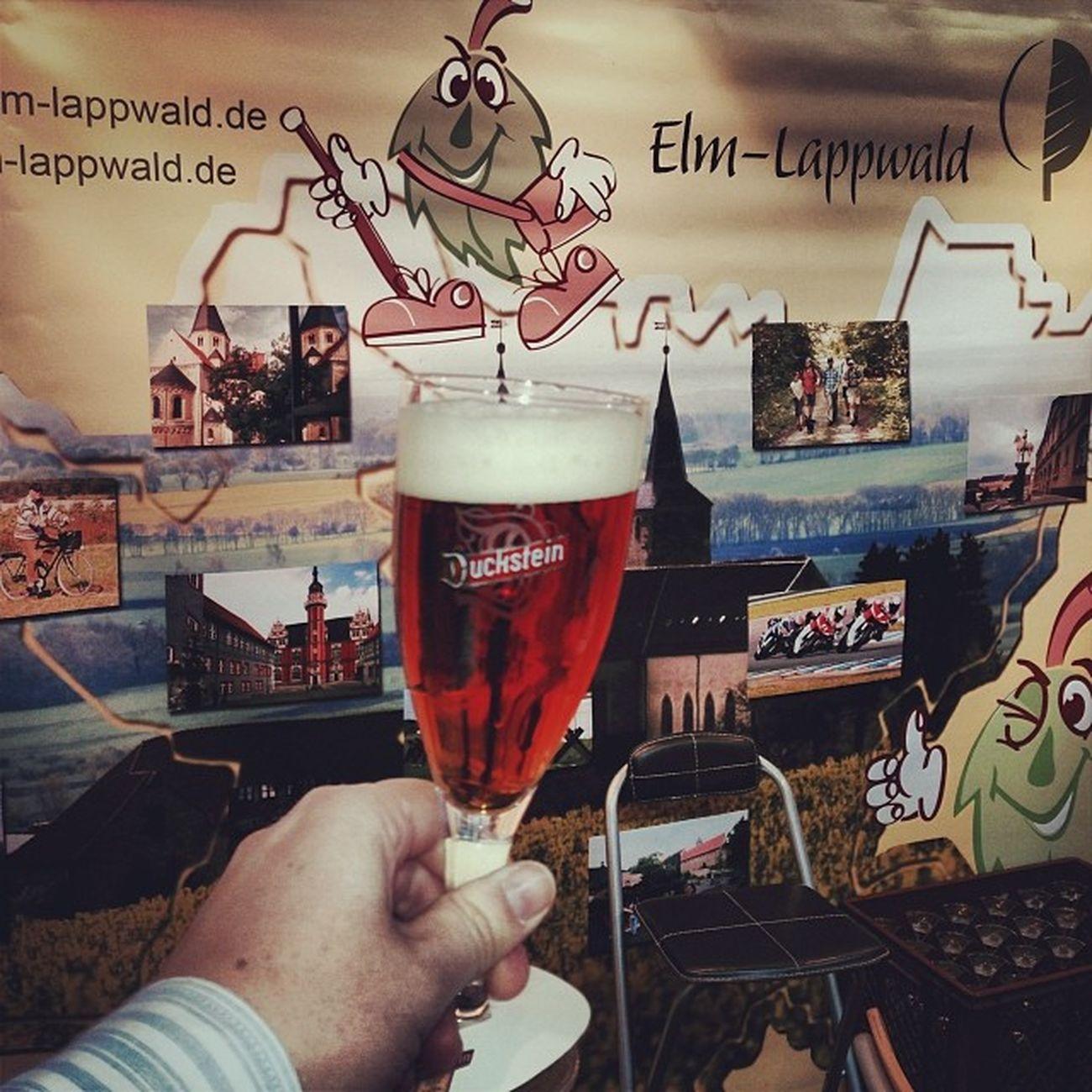 Ersma ein #Duckstein... #prost | #CMT14 ELM Cmt14 Lappwald Beer Elmlappwald Cheers Fair Stuttgart Bier Messe Booth Prost Duckstein Cmt Tradeshow