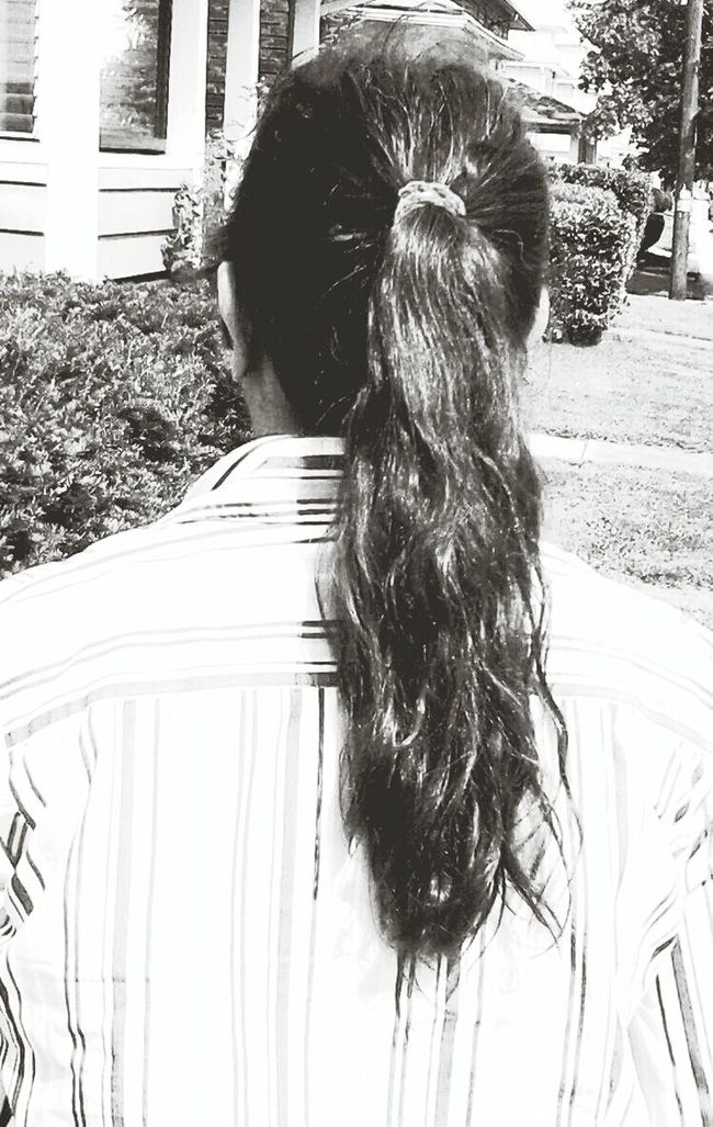 MY PONY TAIL That's Me Enjoying Life IN NEWBERRY.
