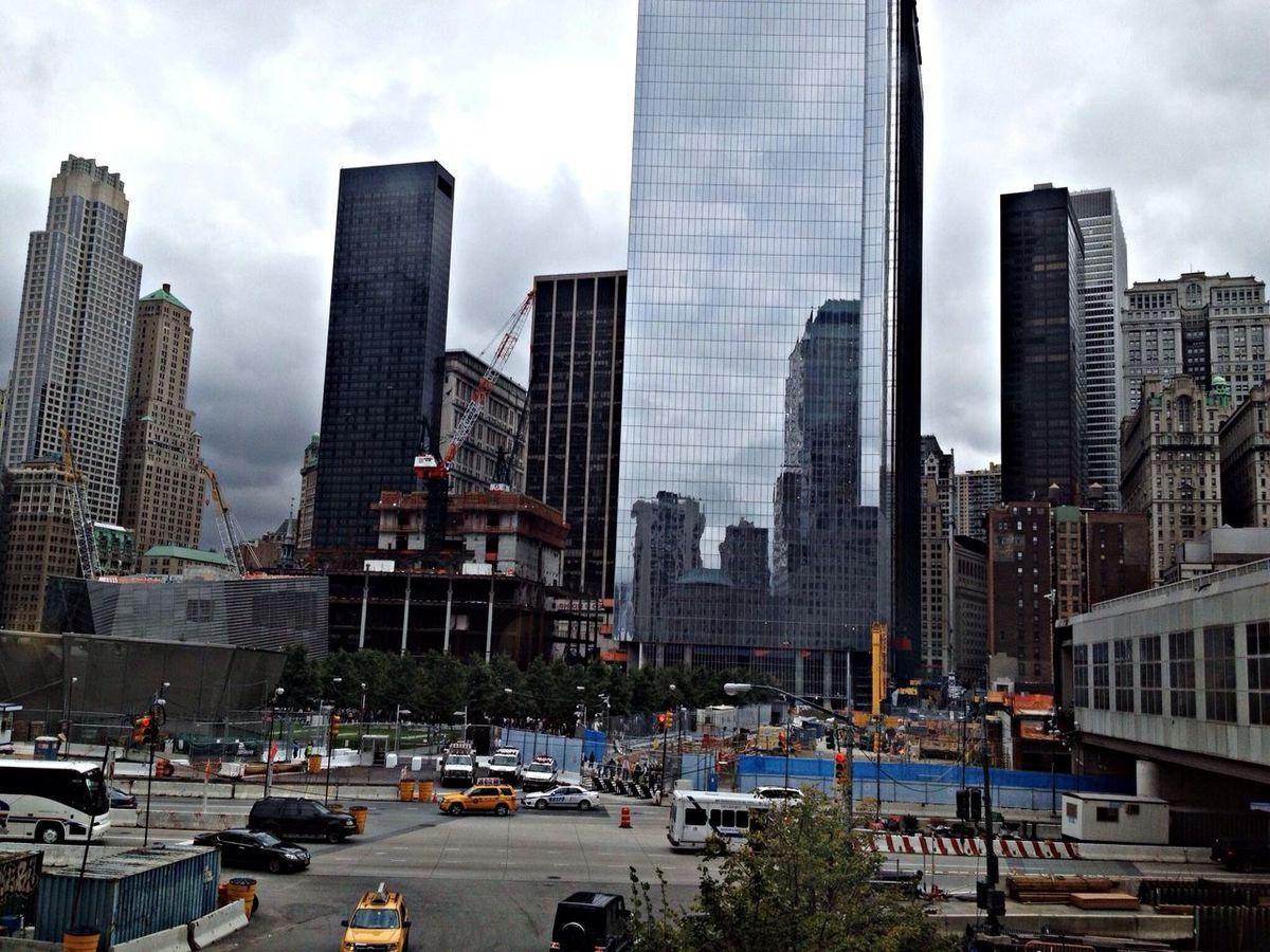 New York Enjoying The Sights