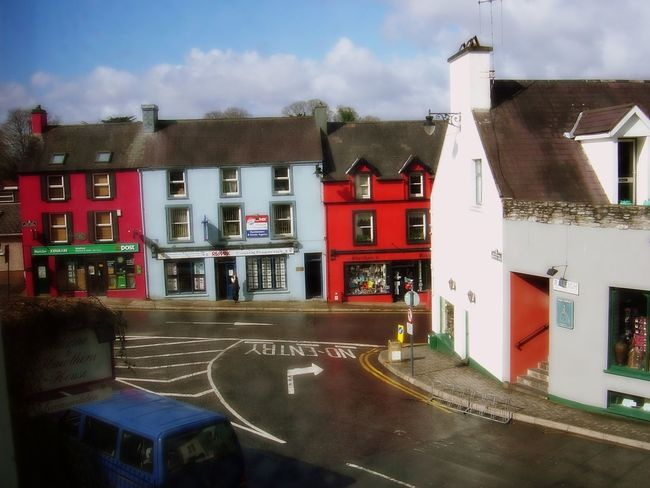 Arrangement City Life Collection Colorful Community Day Full Frame Human Settlement Intersection Ireland No People Order Pavement Post Office Residential District Ring Of Kerry Shops Side By Side Storefront Tourism Town Tradition Urban Vacation Village