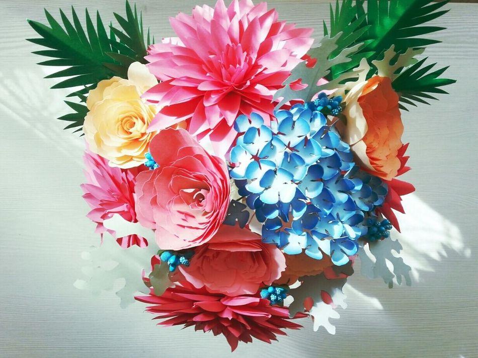 Paper Flowers Spring Crafts EyeEmNewHere