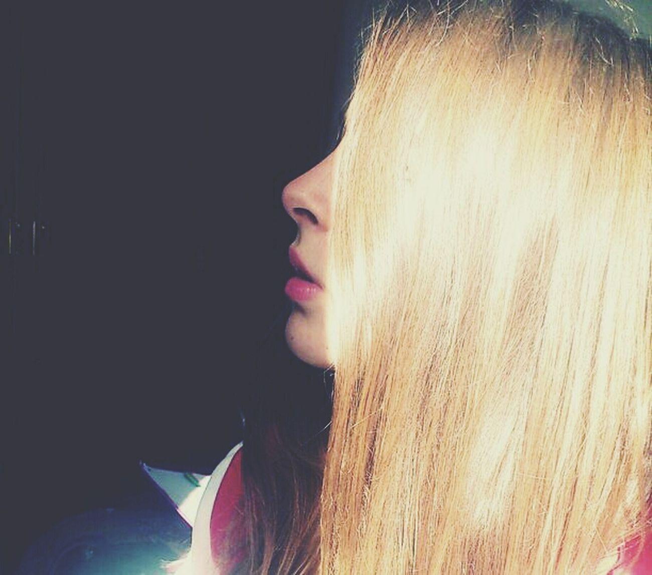 Longhair Sunlight Lips Tumblrgirl