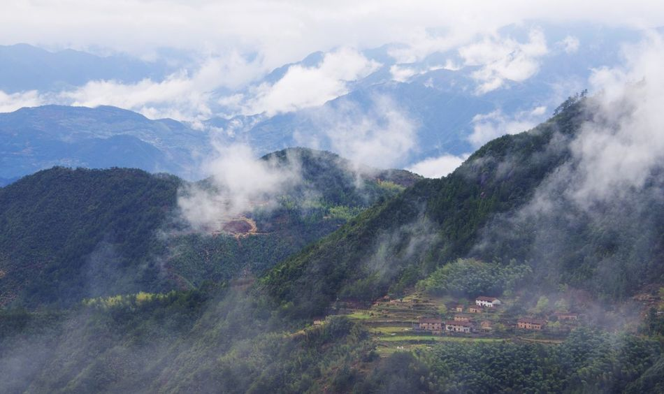 Feel The Journey Vi village Mount mountain Cloud cloud