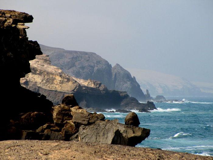 Cliffs Cliffside Coastline Ocean Ocean View Physical Geography Rock Rock Formation Rough Scenics Sea Seaside Water Waves Crashing