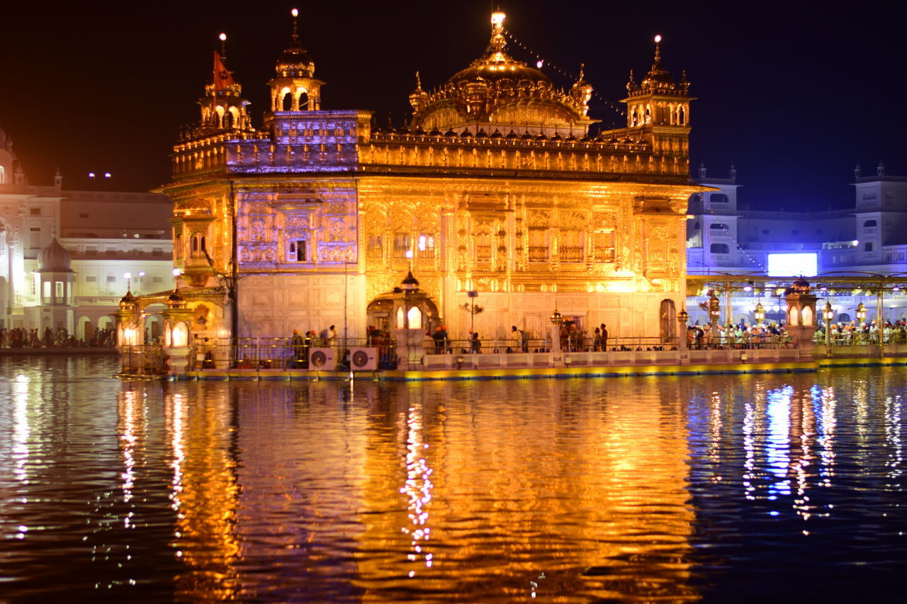 night, illuminated, architecture, built structure, building exterior, water, tourism, history, travel destinations, reflection, travel, outdoors, waterfront, sky, city, no people