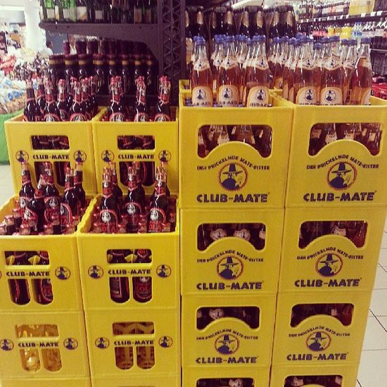 Paradise , they call it... ♥ Clubmate Mate Cola