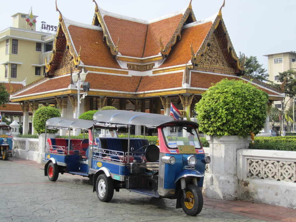 The Architect - 2016 EyeEm Awards Buddhist Temple In Thailand Thailand Photos Thailand_allshots Buddhist Temple Temple Vehicle Photography 3 Wheels Took Took The OO Mission Hidden Gems