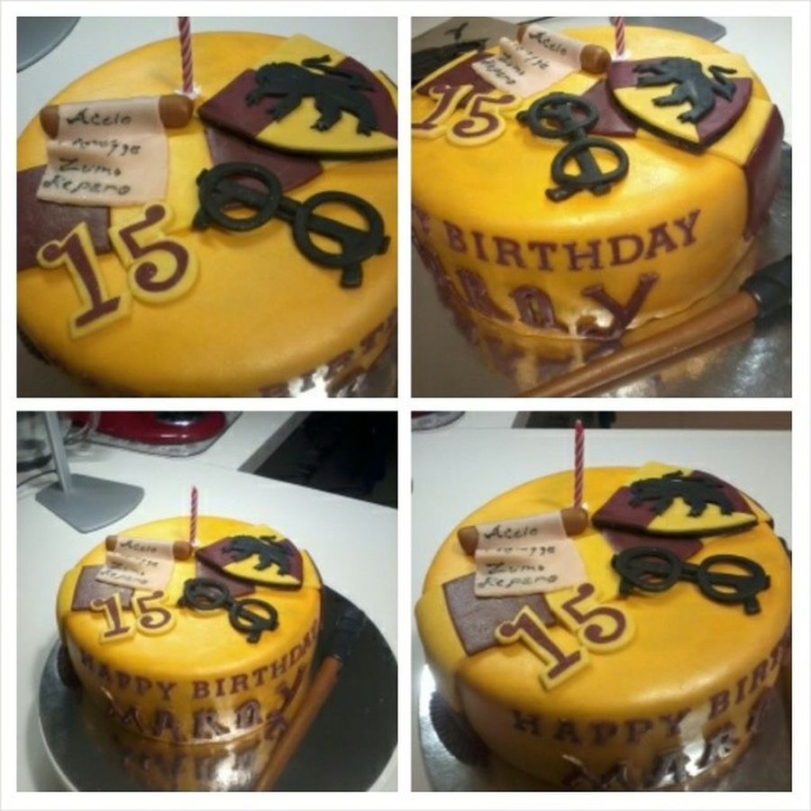 this is my cake for my birthday tomorrow (January 12th) I'm a Slytherin but ISNT IT PERFECT. Harrypotter HarryPotterCake Gryffindor Slytherin