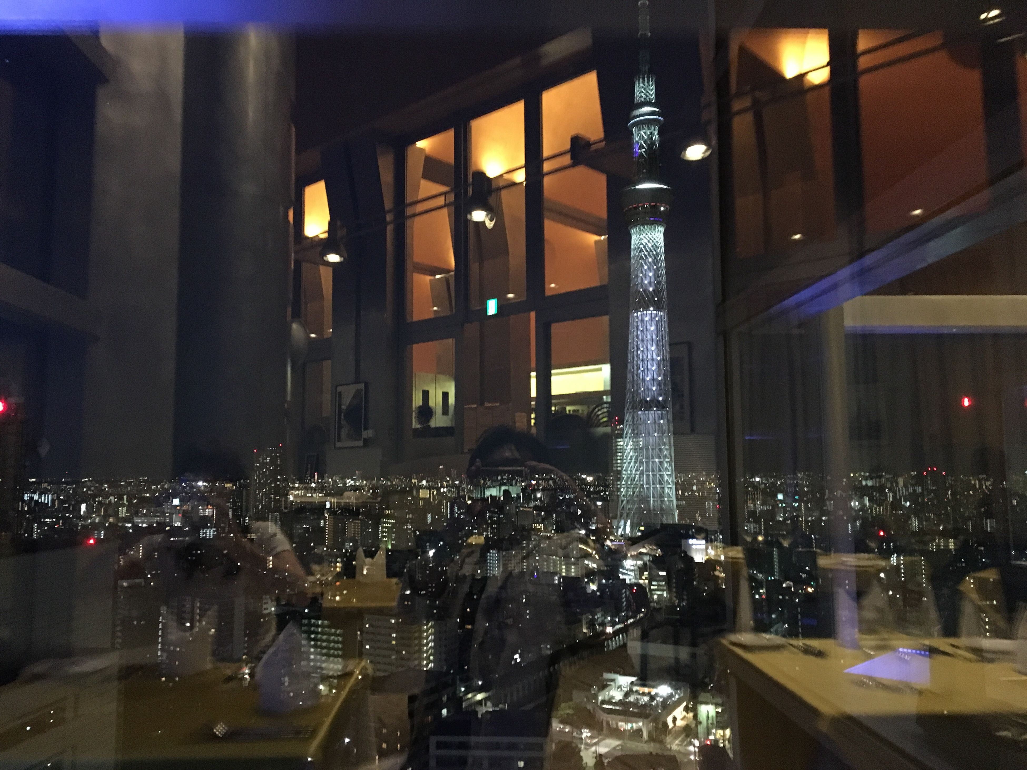 illuminated, indoors, restaurant, night, architecture, no people, built structure, alcohol, city