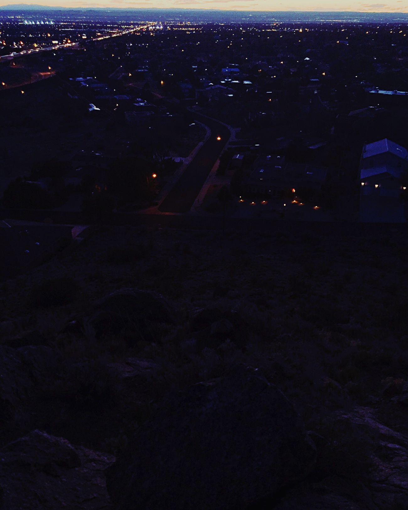 Albuquerque New Mexico Mountains Suburban Landscape Suburbia Landscape City Photography Neighborhood Foothills Southwest  Cityscape Landofenchantment Mountain Suburbs Sandia Mountains Photographyislife Photographylovers Photography Themes Sunset Dusk City Lights Abq Nightphotography Night Lights