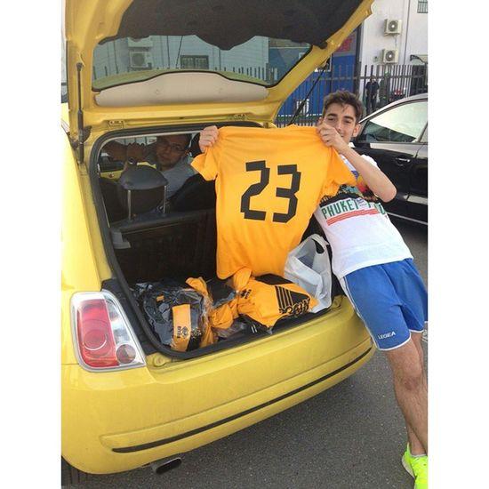 Ora si fa sul serio! Watanka by RaiseBar 💛💛💛 Love Watanka Calcio Football ⚽
