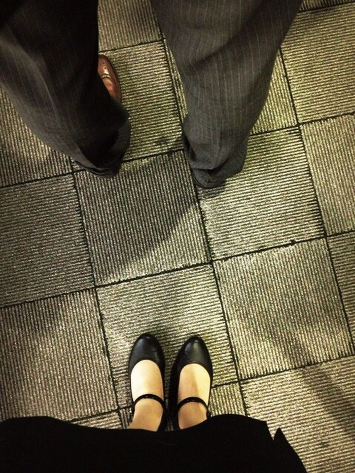 Self Portrait Legs Women Light And Shadow Tokyo Busterminal