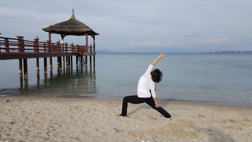 Yoga everywhere Yoga Yogaeverydamnday Yogagirl Yogaeverywhere Yogaeveryday Yogalove