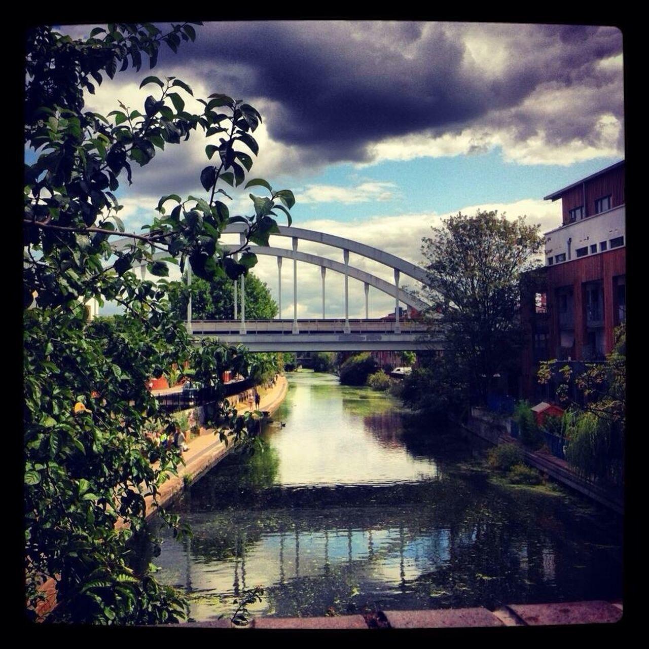 Hoxton Canal Bridge London