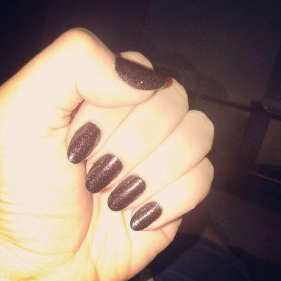 Risque Pretosepia Viuvanegra Nails artnails longnails blacknails