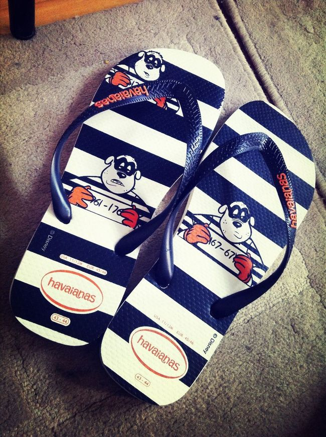 Something new aside from being plain Havaianas Stripes Disney Slippers