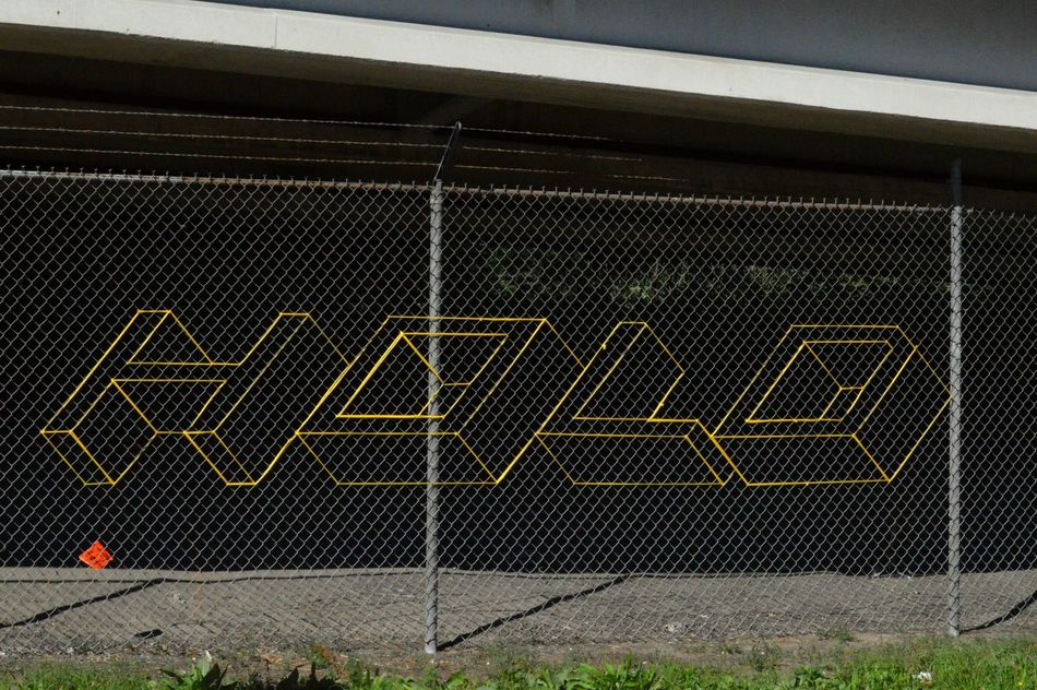 Yarn Bombing Geometric Shape No People Minneapolis Yarn Yarnlove Yarnart Art Artistic Expression Hottea Hotteampls