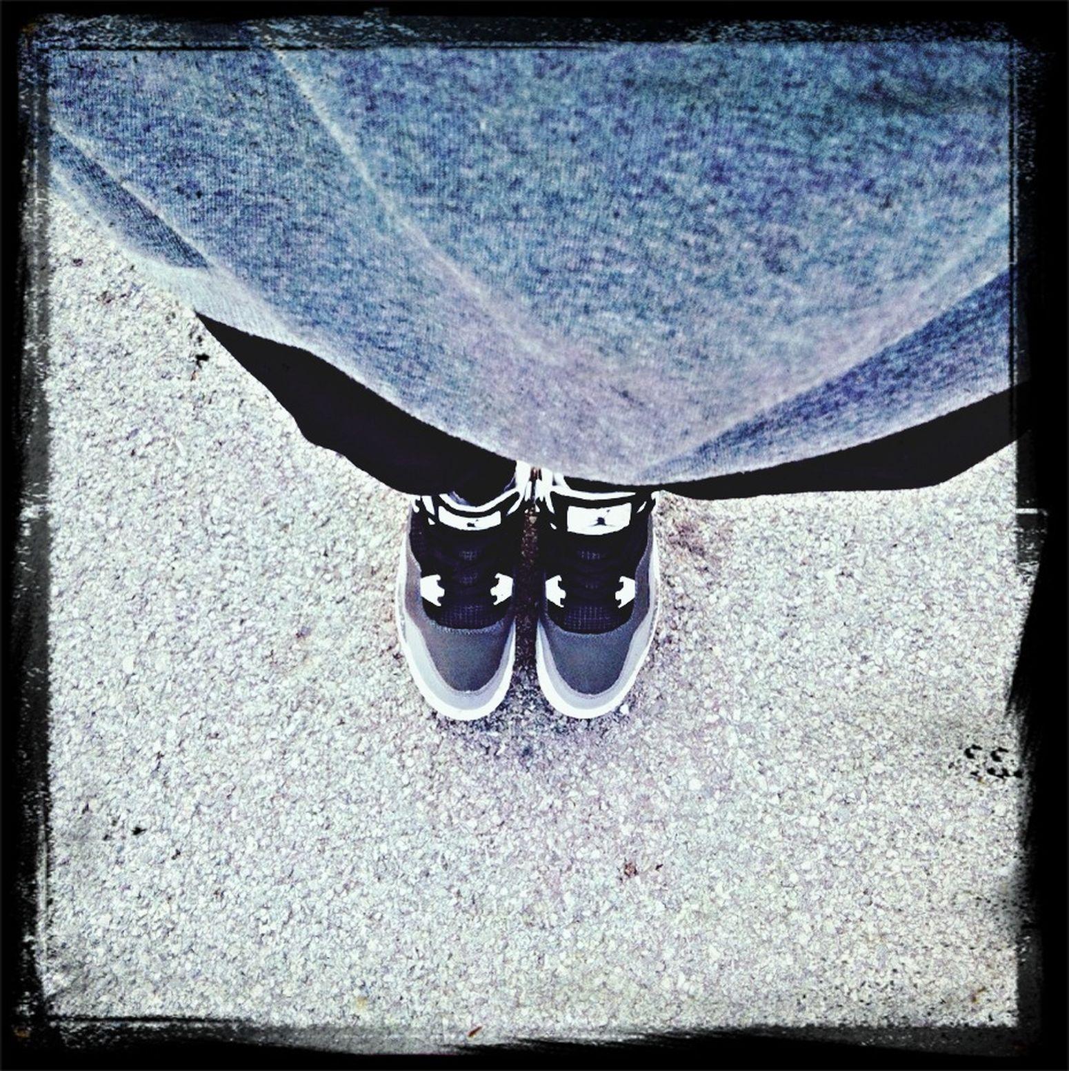 My new aj shoes Enjoying Life