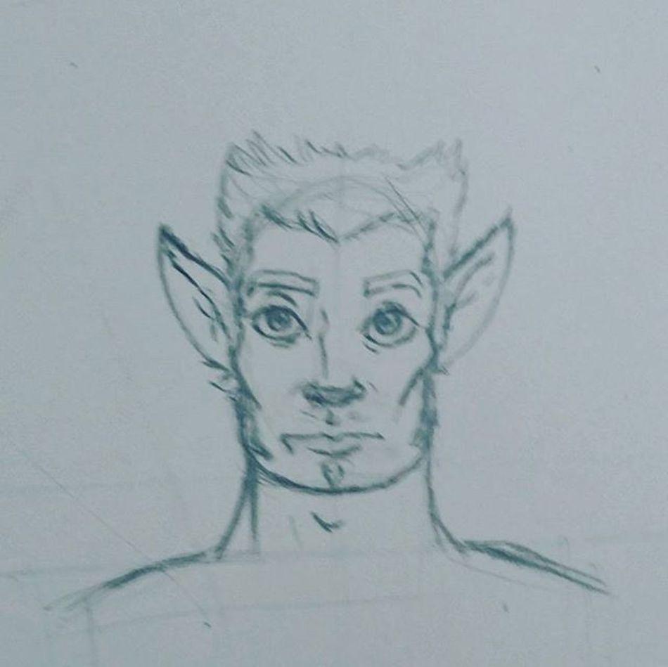 Astolfo Rickart Rgart Furry Character Rickcharacter Rgcharacter Pencil Pencildrawing Drawintable Draw Sketch