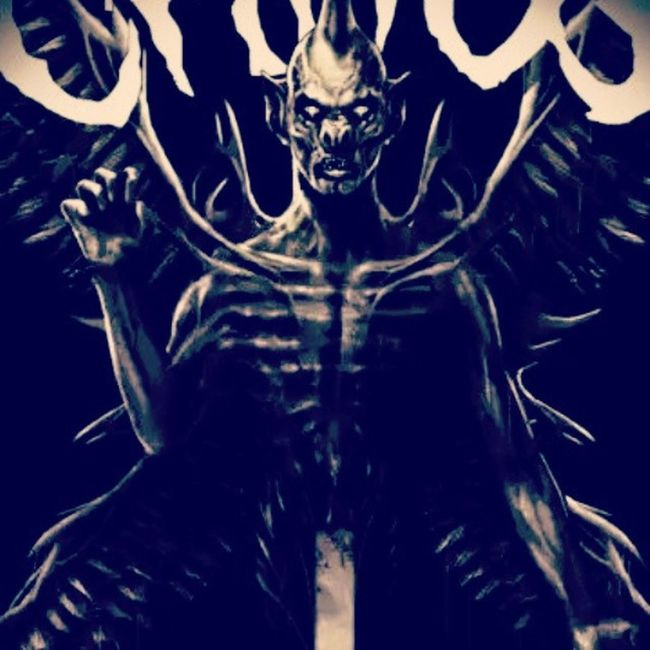 Metal Metalhead Demon Pazuzu thrash thrashmetal deathmetal death nervocaos exorcist hell