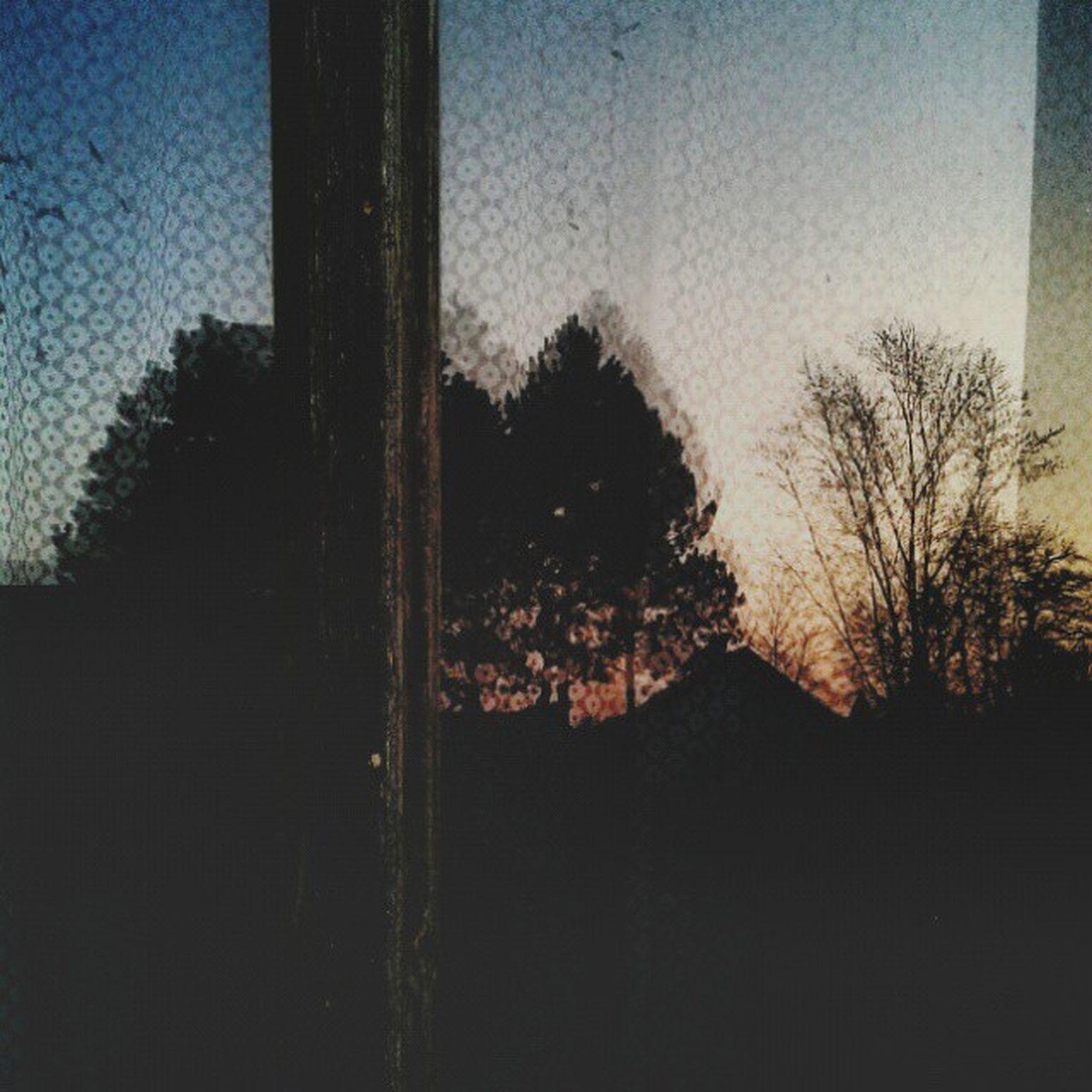Czech Retro Photo Viilage Photography Art Window Sun Evening Tree