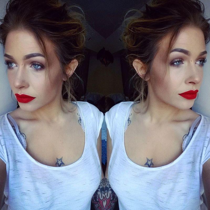 Makeupartist Maquillage Woman Makeup Makeupaddict Make Up Pbcosmetics Maccosmetics Inkedgirls Tattoogirls Wachclaude Tatouages Inked Tatouage Ink Makeupforever Modèle Girl
