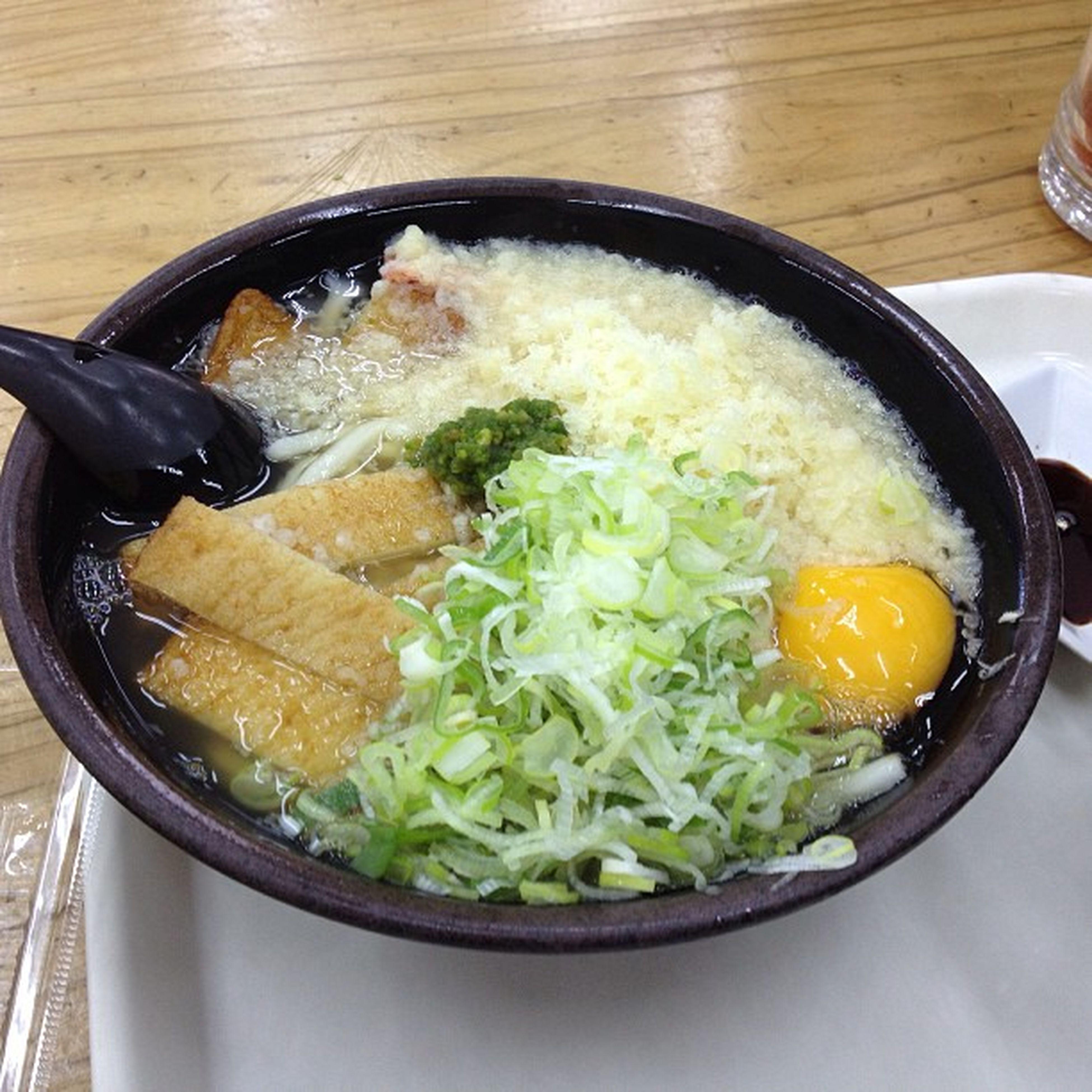 うどん食べるよ\(^o^)/
