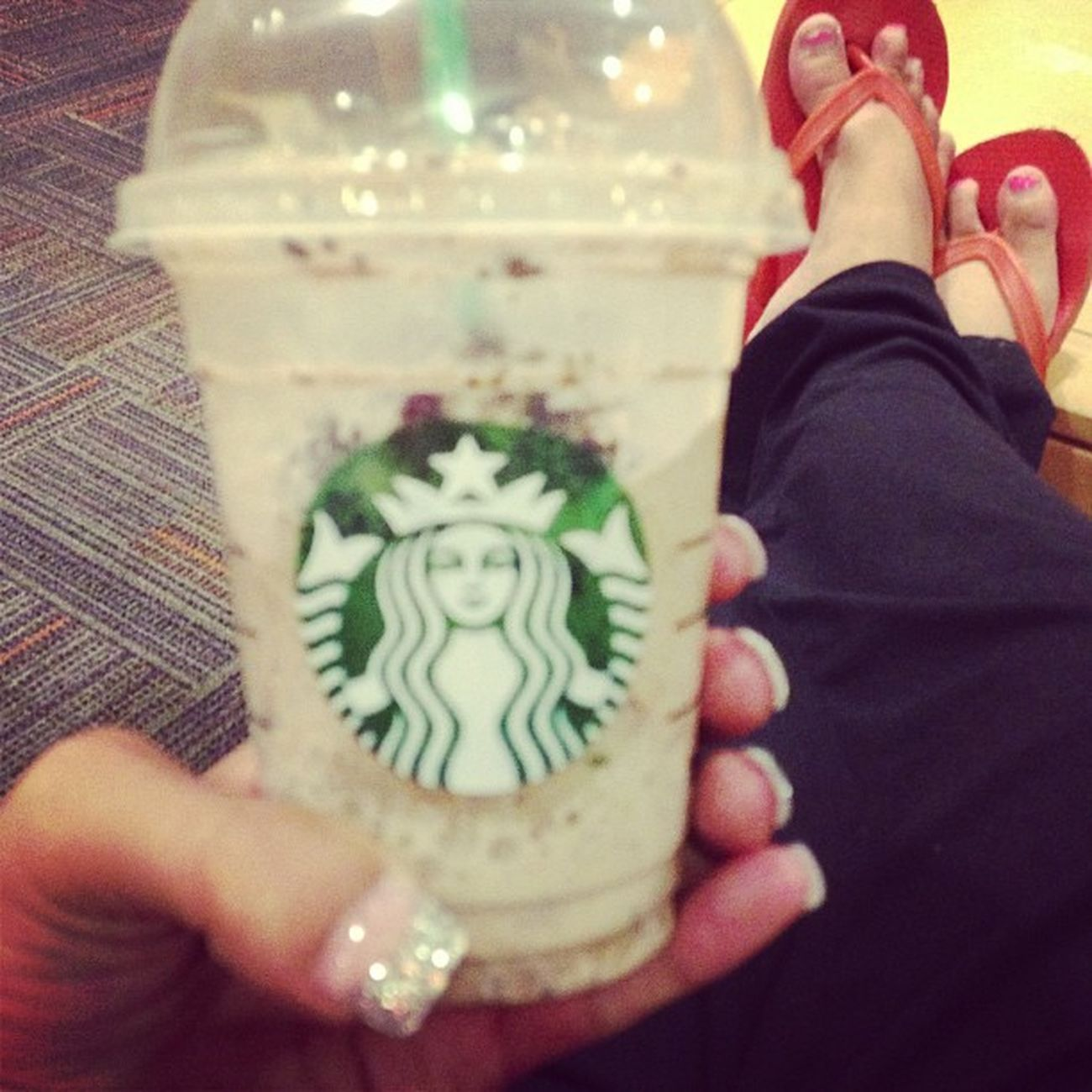 Frappe mocha cookie crumble Starbucks Love Addicted Caffine