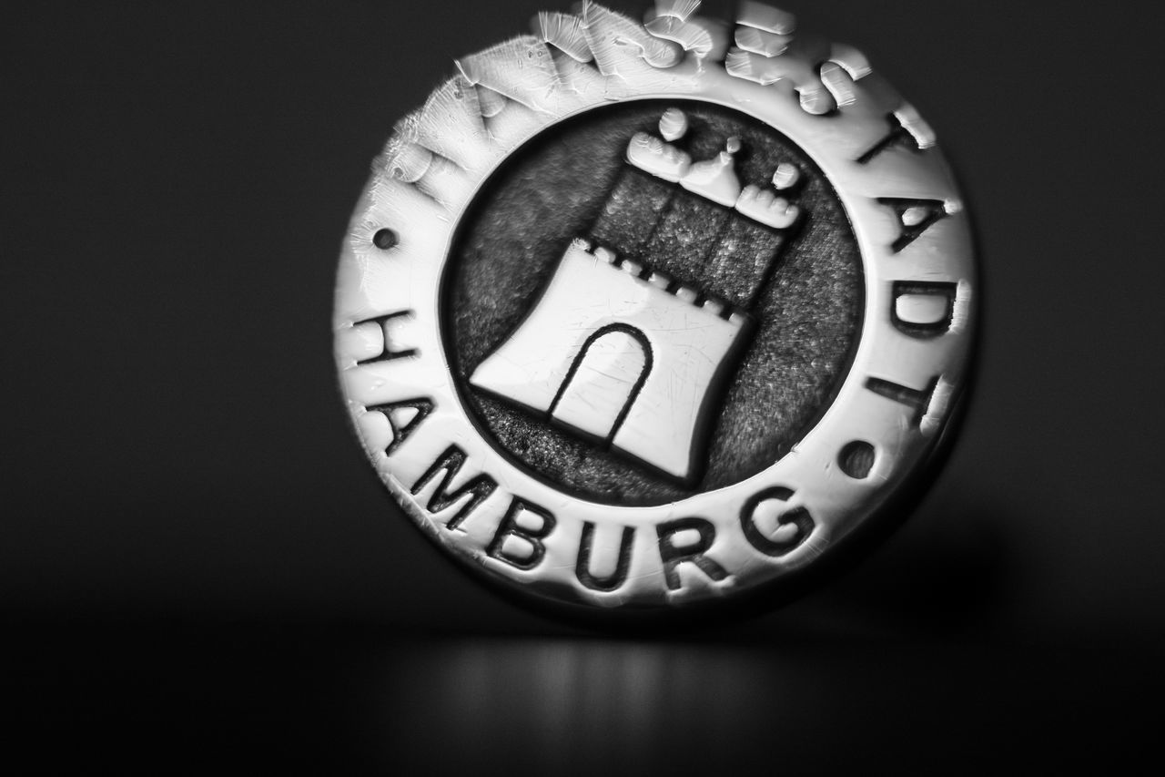 Coat of Arms Hamburg Blackandwhite Bw Bw_collection Castle Close-up Coat Of Arms Cuff Button Cufflink Free And Hanseatic City Of Hamburg Gate To The World Hanse Hanseatic Hansestadt Hamburg Metal Metallic Seal Stadtwappen Tor Zur Welt Wappen