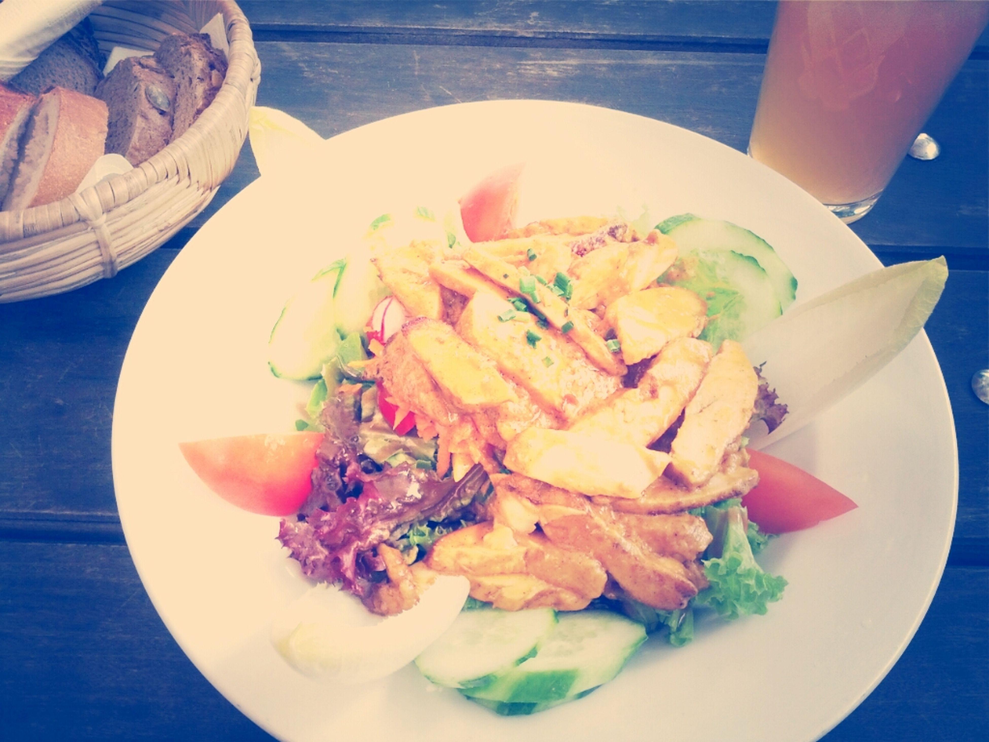 Having Lunch