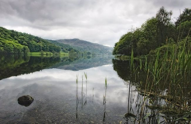 Grassmere Lake Water Reflections Landscape Outdoors