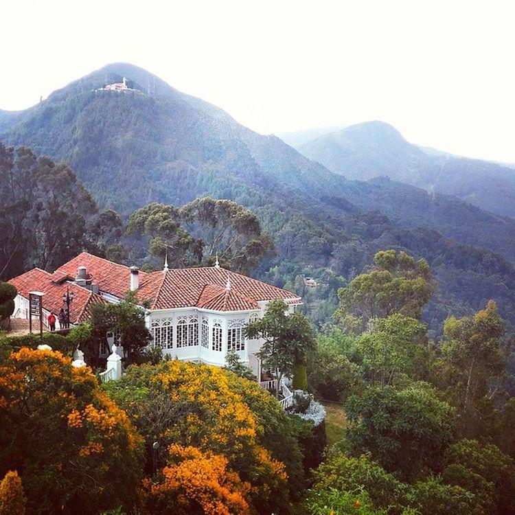 Colombia Kolumbien Bogota. Montserrat Mountain Mountains Mountain View