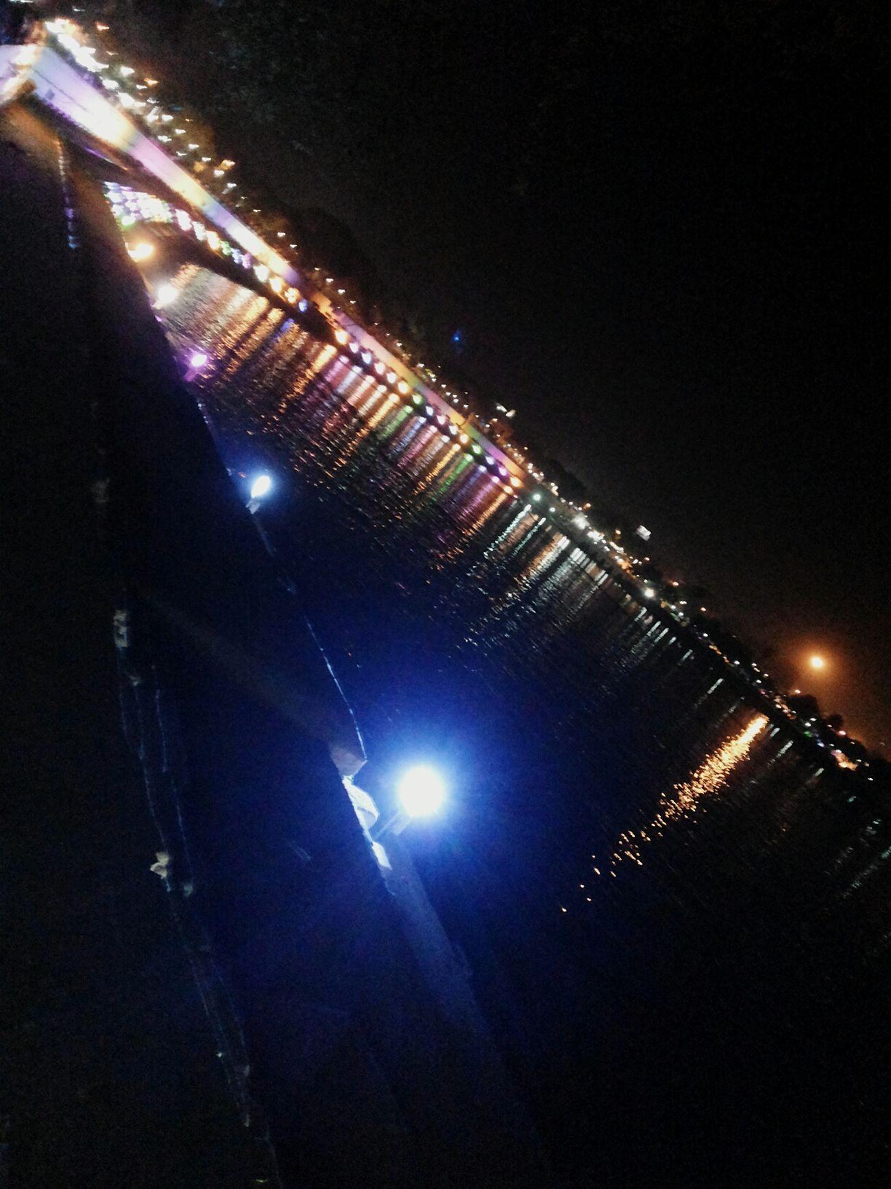 Night Lights Lake View