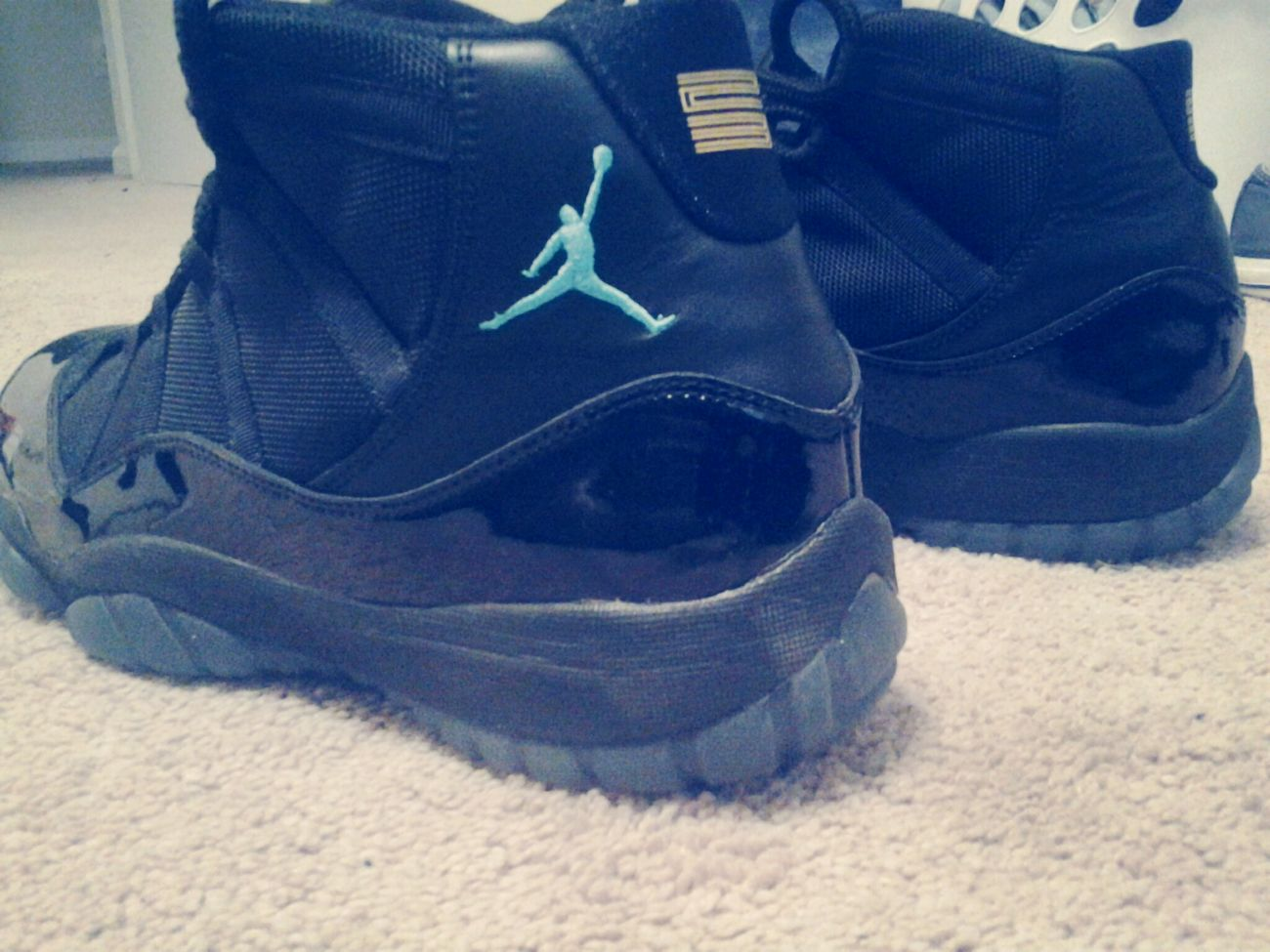 Jordans On My Feet  Gamma Blue 11's YoungndGifted YNG First Eyeem Photo