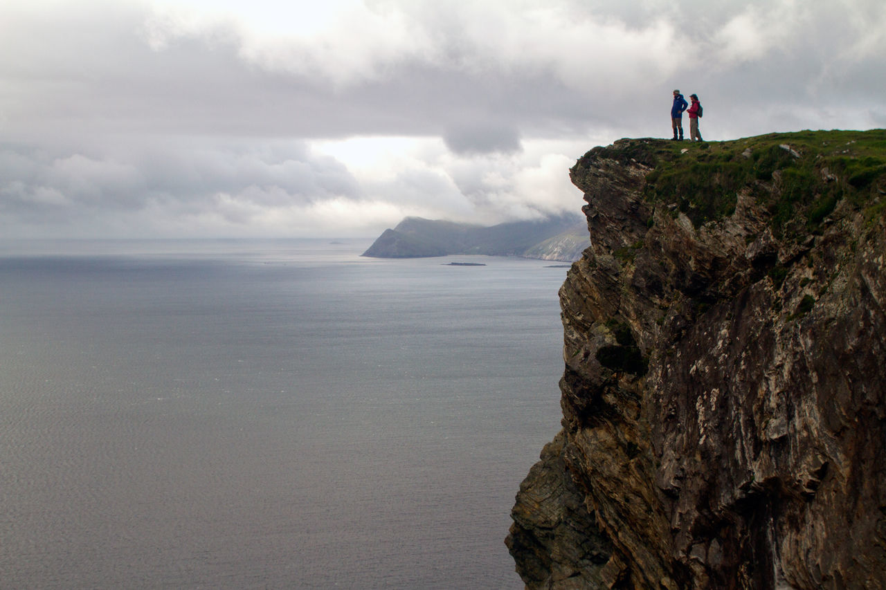 Beautiful stock photos of ireland, Adventure, Cliff, Cloud - Sky, Cloudy
