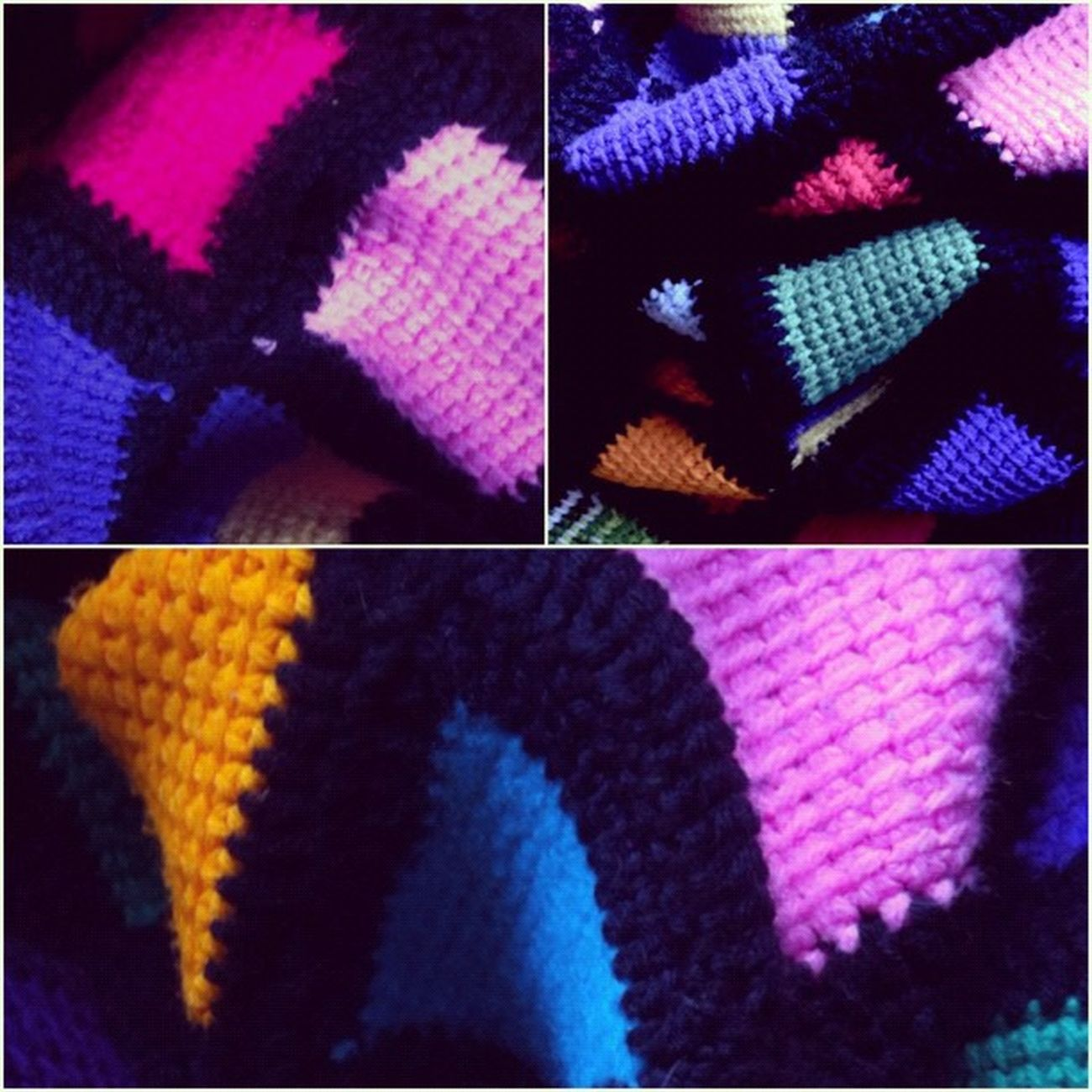 Crocheted granny-square #aphgan #squares #crochet #handmade #iphoneonly Handmade Iphoneonly Crochet Squares Aphgan