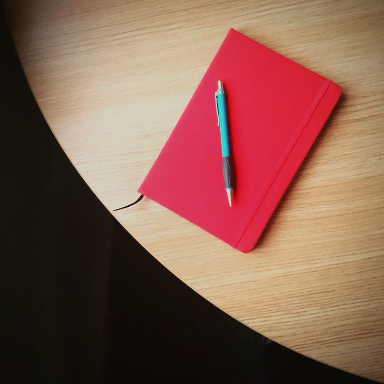 Negative Space Notebook Desk Round Desk Curve To Write Better Together Smart Simplicity Throw A Curve Desks From Above