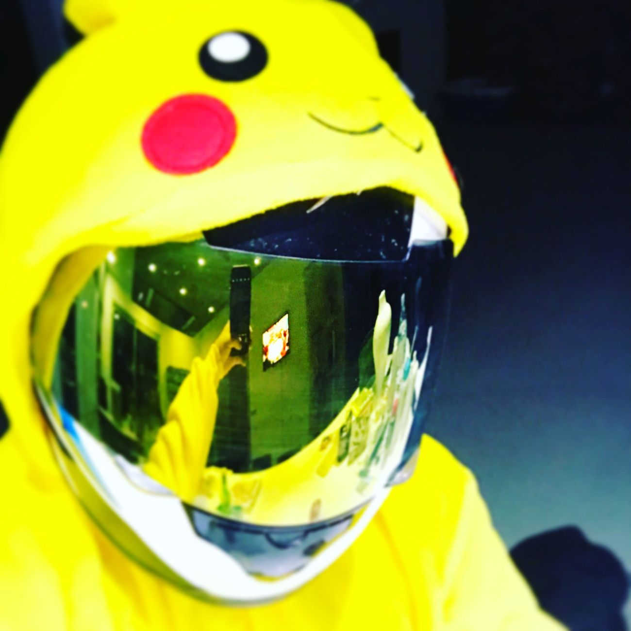 Ready for a ride Pikachu Moto