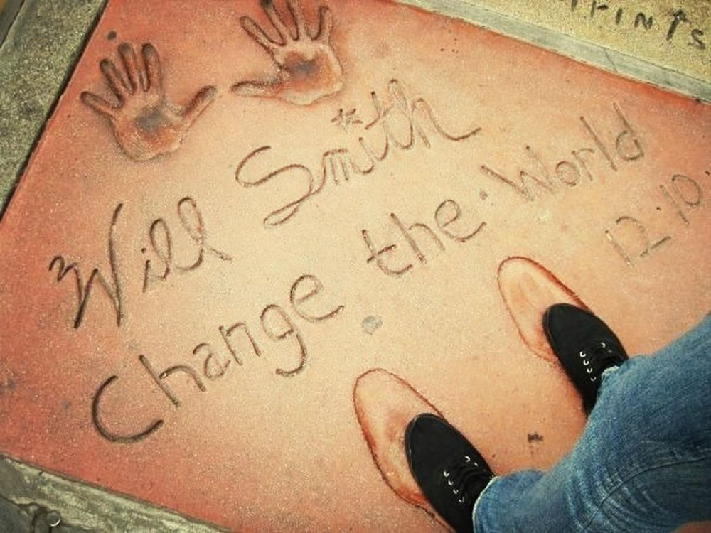 Visual Statements Los Angeles, California Traveling Will Smith