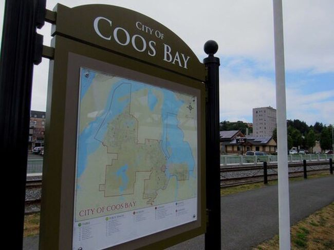 Coosbay Coos Bay City Oregon Check This Out Blue Bluesky Map Clouds Clouds And Sky Blue Sky